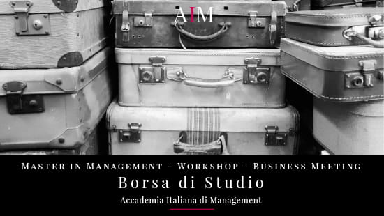 borsa di studio master attestato master master con stage job placement accademia italiana di management master in management corso alta formazione business school