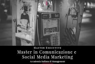master in comunicazione e social media marketing executive master in management master executive business school aim roma