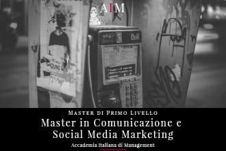 master in comunicazione e social media marketing master in management master di primo livello business school aim roma