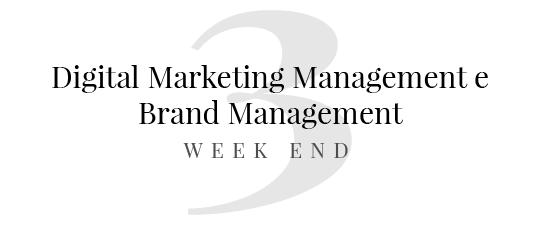 master in digital marketing master in brand management elementi di economia aziendale contenuti web progettazione e commerce seo base sales models week end