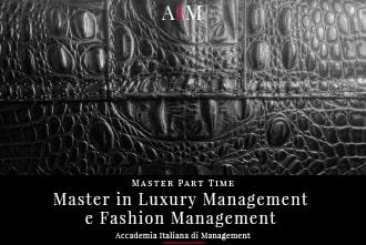 master in luxury management e fashion management part time master in management master part time business school aim roma