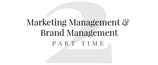 master in marketing management master in brand management brand advertising brand management brand reputation brand strategy marketing operativo part