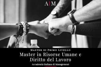 master in risorse umane e diritto del lavoro master in gestione aziendale master in management master di primo livello business school aim roma