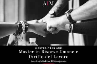 master in risorse umane e diritto del lavoro week end master in gestione aziendale master in management master week end business school aim roma