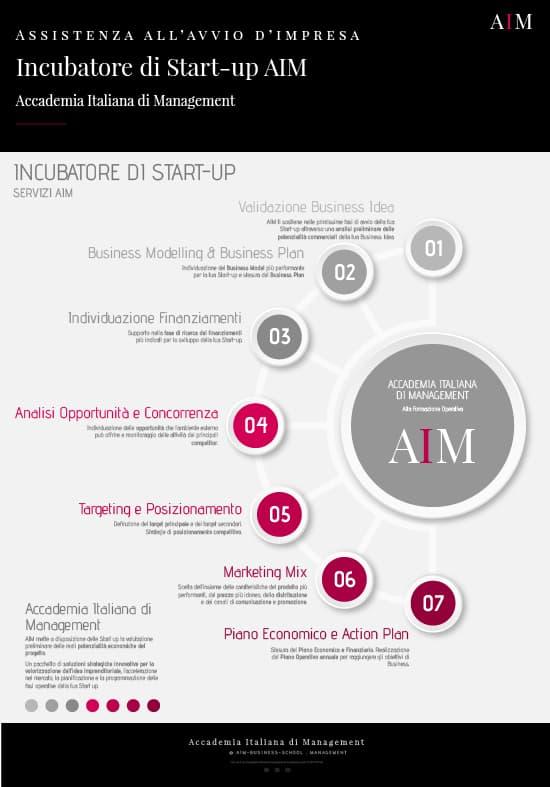 incubatore di start up acceleratore di start up aim business school master in management
