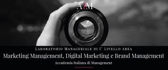 laboratorio manageriale aim business school accademia italiana di management master primo livello marketing